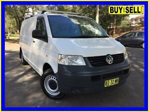 2009 Volkswagen Transporter T5 MY08 (LWB) White 6 Speed Tiptronic Van Lansvale Liverpool Area Preview