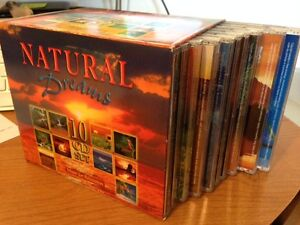 "Music for Relaxation - ""Natural Dreams"" 10 CD set"