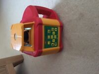 Fully automatic self evelling laser level