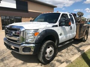 2012 Ford Super Duty F-550 DRW XLT 4x4!! Lincoln Welder!! Low K!