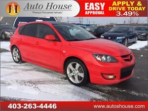 2009 Mazda Speed3 6 SPEED MANUAL ONLY $7988!