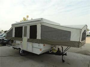 12 foot pop up tent trailer with 3 slideouts