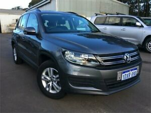 2012 Volkswagen Tiguan 5NC MY12 118 TSI (4x2) Silver 6 Speed Manual Wagon Margaret River Margaret River Area Preview