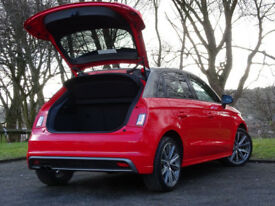 AUDI A1 1.4 SPORTBACK TFSI S LINE STYLE EDITION 5d (red) 2015