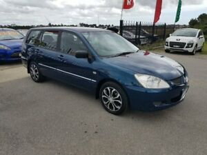 2004 Mitsubishi Lancer CH ES Blue 4 Speed Auto Sports Mode Wagon Officer Cardinia Area Preview