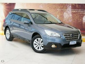 2016 Subaru Outback B6A MY16 2.0D CVT AWD Grey 7 Speed Constant Variable Wagon Collingwood Yarra Area Preview