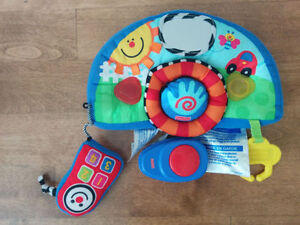 Fisher-Price musical car seat dashboard