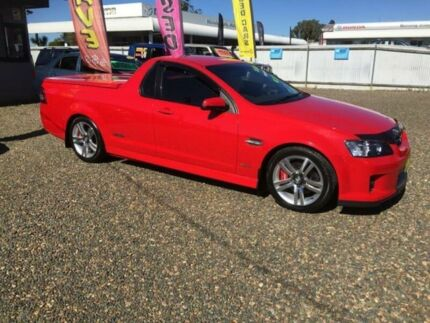 2009 Holden Commodore VE MY10 SS Red 6 Speed Automatic Utility Taree Greater Taree Area Preview