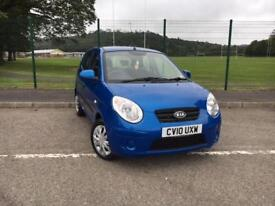 Kia Picanto 1.1 ( 64bhp ) Auto 2010MY Strike 2010 *WITH ONLY 20,200 MILES*
