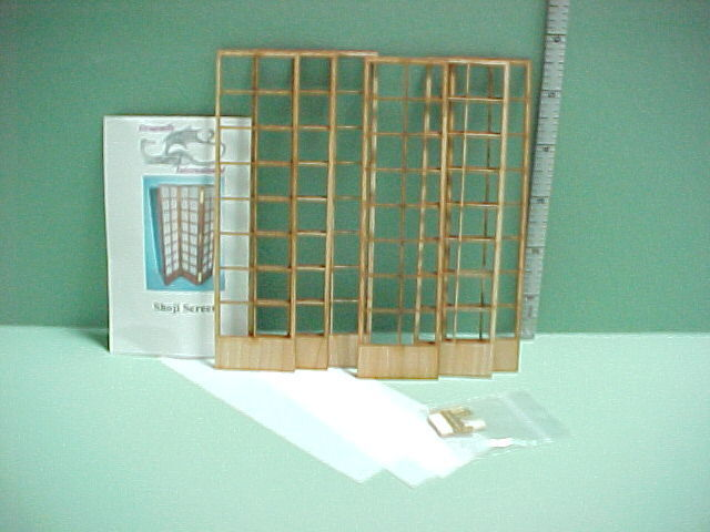 Miniature Shoji Screen Kit #DF106 - Laser Cut Dragonfly Int