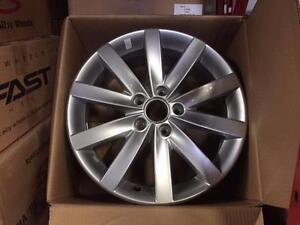 """New arrival OEM VW 17""""x7"""" Porto  silver take off from brand new cars"""