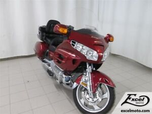 2001 HONDA GOLDWING GL1800 ROUGE