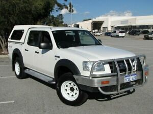 2007 Ford Ranger PJ XL Crew Cab White 5 Speed Automatic Utility Maddington Gosnells Area Preview
