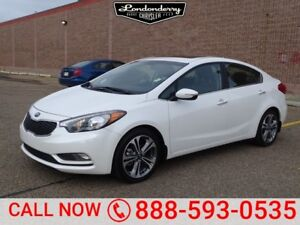 2016 Kia Forte SX Accident Free,  Navigation (GPS),  Leather,  H