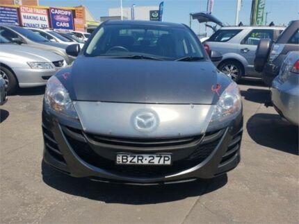 2011 Mazda 3 BL 10 Upgrade Maxx Grey 6 Speed Manual Sedan Cardiff Lake Macquarie Area Preview