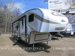 *LITE FAMILY FIFTH WHEEL FOR SALE* 2017 COUGAR 28RDB *BUNKS*