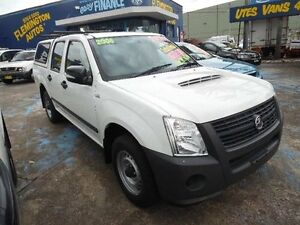 2008 Holden Rodeo RA MY08 LX White 5 Speed Manual Crewcab Homebush West Strathfield Area Preview