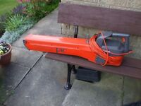 Flymo garden vac or leaf blower with collection bag