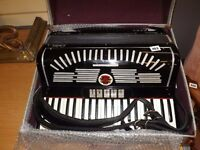 Calvi Parma accordion Italy, musette tuning suitable for Scottish folk.