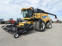 2011 New Holland CR9090 Z Rotary Combine, 591HP FULLY LOADED
