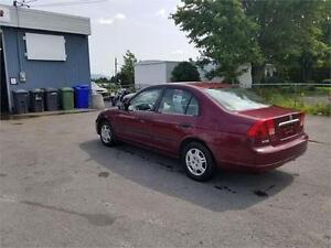 2002 Honda Civic DX FINANCEMENT AUCUN CAS REFUSÉ!!
