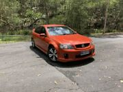 2007 Holden Commodore VE SV6 Orange 6 Speed Manual Sedan Springwood Logan Area Preview