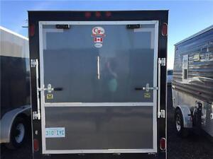 2013 CJay FX9 14' Enclosed Cargo Trailer Regina Regina Area image 2
