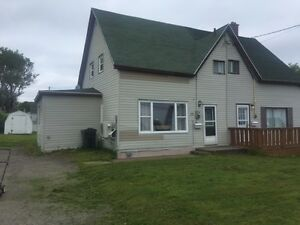 GLACE BAY; COMPLETELY RENOVATED LARGER 3 BEDROOM 1/2 DUPLEX