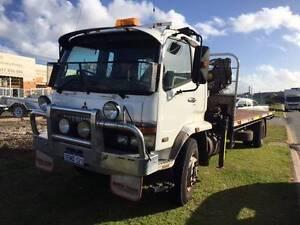 mitsubishi 8 ton  crane truck Malaga Swan Area Preview
