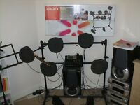 Ion 'Sound Sessions' Electric Drum Kit