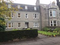 For Lease, Fully Furnished, Two bed Flat, Devonshire Road, Aberdeen.