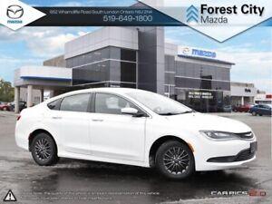 2016 Chrysler 200 LX | Cruise | Bluetooth | Low Mileage