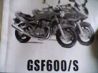 Suzuki gsf600 mk2