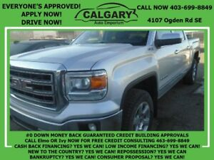 2014 GMC Sierra 1500 SLT *$28 DOWN EVERYONE APPROVED*