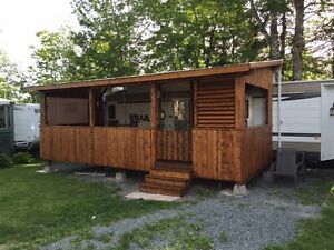 Trade park model trailer and cash for waterfront or acreage