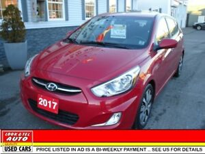 2017 Hyundai Accent SE $16495 financed price - 0 down payment* S