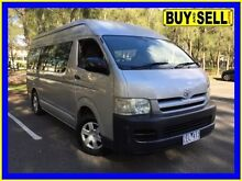 2005 Toyota Hiace TRH223R Commuter Silver 5 Speed Manual Bus Lansvale Liverpool Area Preview