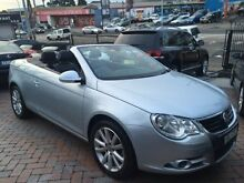 2006 Volkswagen EOS 2.0 TFSI Silver Manual Convertible Croydon Burwood Area Preview