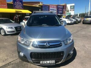 2011 Holden Captiva CG Series II 7 CX (4x4) Grey 6 Speed Automatic Wagon