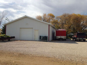 Large Shop (30'x60') and House in Gilbert Plains, MB