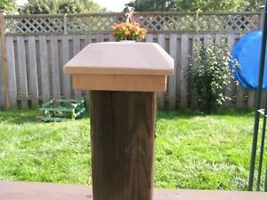Hard wood Fence Post Tops