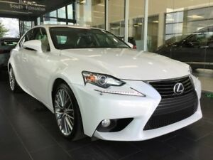 2014 Lexus IS 250 PREMIUM, HEATED/COOLED LEATHER, AWD,
