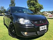 2008 Volkswagen Polo 9N MY2009 GTi Black 5 Speed Manual Hatchback Somerton Park Holdfast Bay Preview