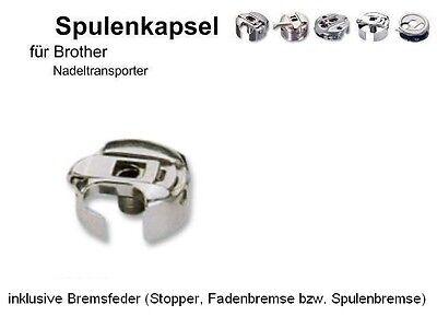 Spulenkapsel für Brother NADELTRANSPORT Maschine + Fadenbremse !!  #DLN - Maschine Spulenkapsel