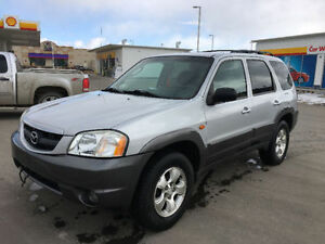 2003 Mazda Tribute SUV, AWD, New Remote Start, ONLY $4500.00!!!