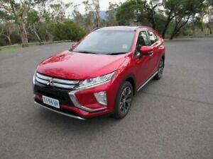 2019 Mitsubishi Eclipse Cross YA MY20 Exceed 2WD Red 8 Speed Constant Variable Wagon Glenorchy Glenorchy Area Preview