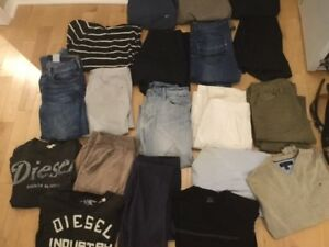 Clothing/Entire Adolescent Boy/Teenager Wardrobe For Sale