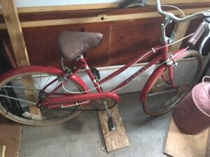 ladies vintage Nassua 3 speed bicycle