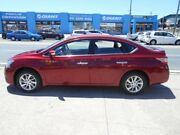 2014 Nissan Pulsar B17 ST-L Red 1 Speed Constant Variable Sedan Fyshwick South Canberra Preview