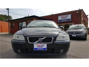 SALE! 2008 VOLVO S60 2.5T AWD ONLY $9,995! WE FINANCE EVERYONE!!